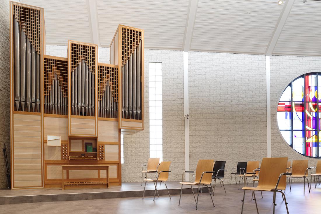 orgel in de Maranatha kerk